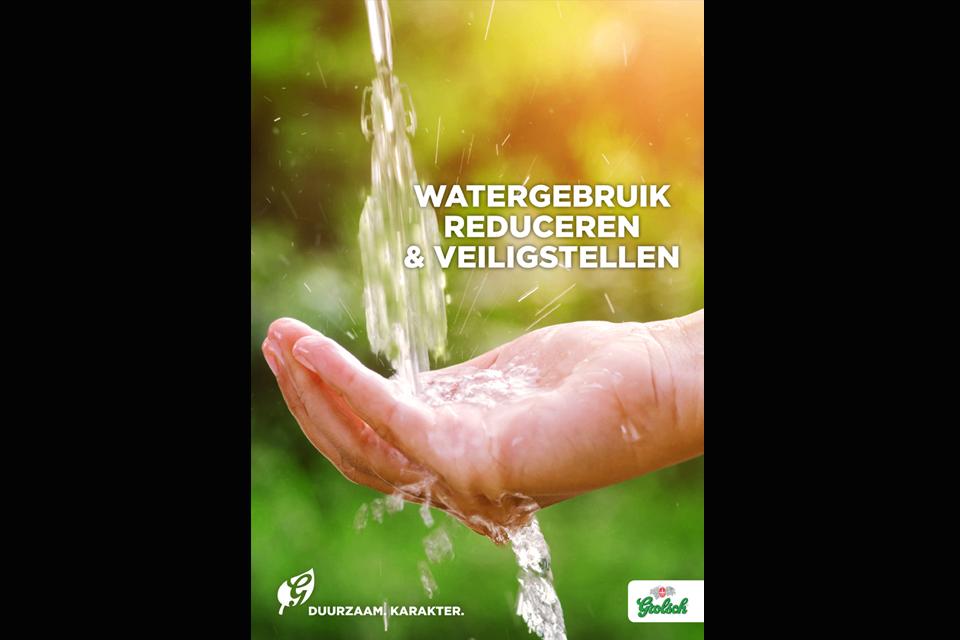 Waterbesparend project met record