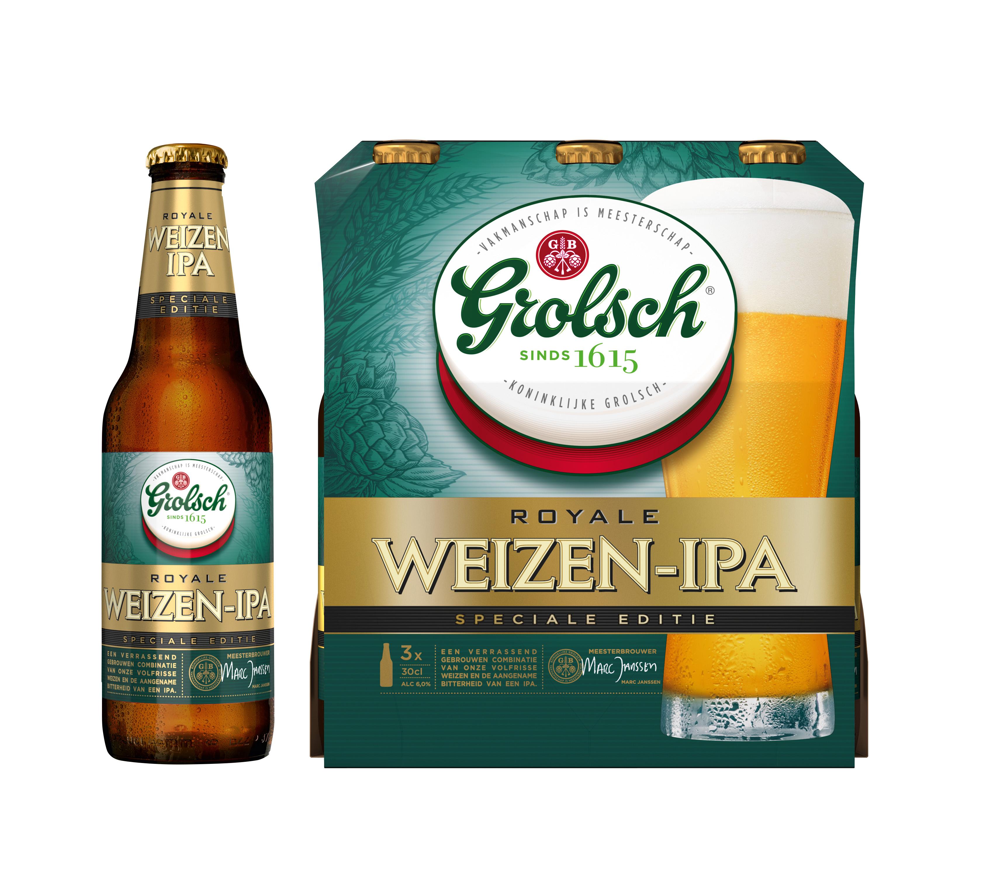 Grolsch Weizen-IPA groot succes en nu ook verkrijgbaar in retail