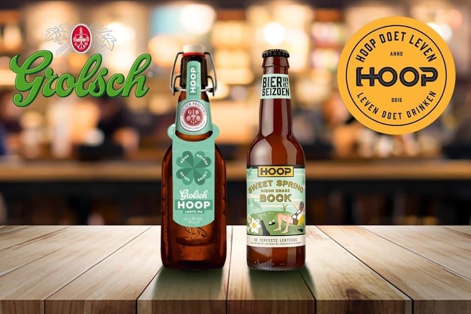 Koninklijke Grolsch en Brouwerij Hoop komen met hoopvolle collaboration brew
