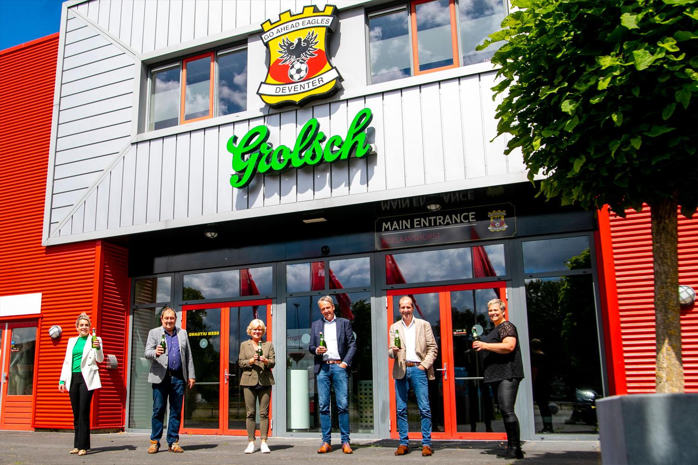 Koninklijke Grolsch en Go Ahead Eagles verlengen partnership