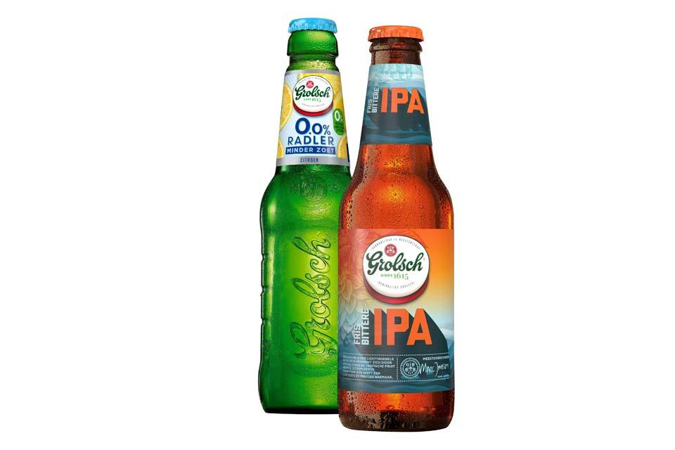Grolsch introduceert twee nieuwe bieren