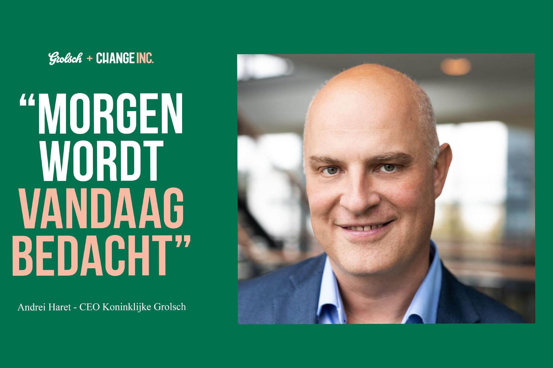Koninklijke Grolsch is een van de changemakers binnen Change-Inc.