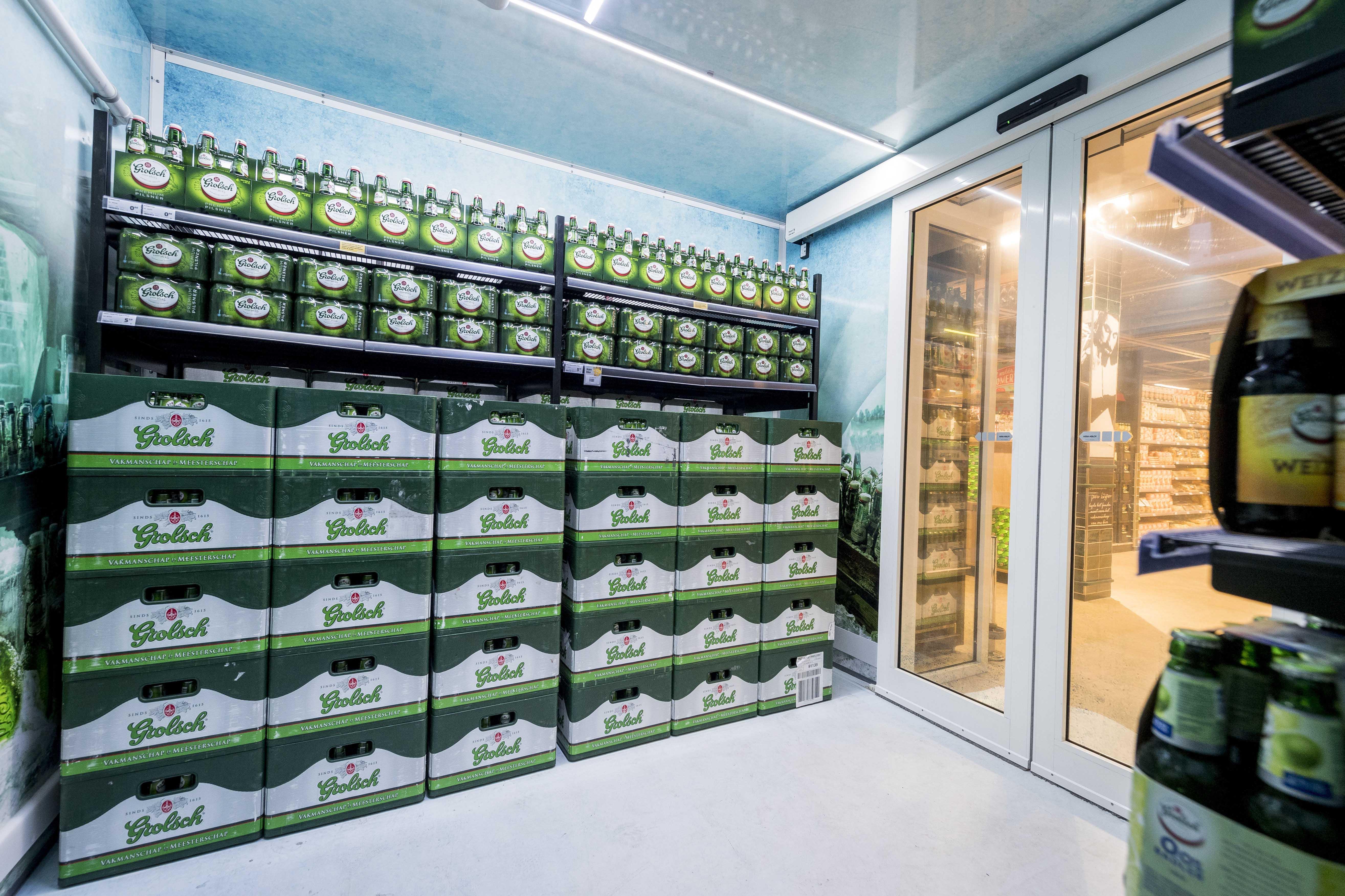 Unieke bierwereld met ijskelder geopend bij Jumbo Leussink Haaksbergen